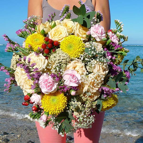 Bouquet champ tre champ fleuri un bouquet tout en couleur for Bouquet fleuri