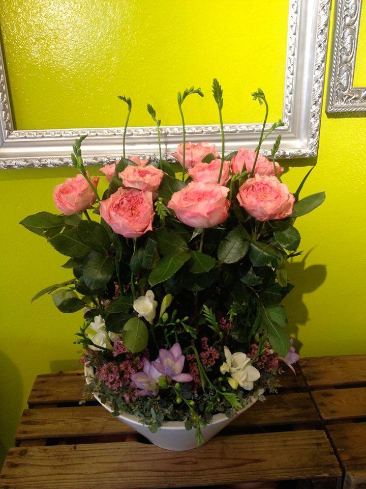 fleurs composition fleuriste reunion