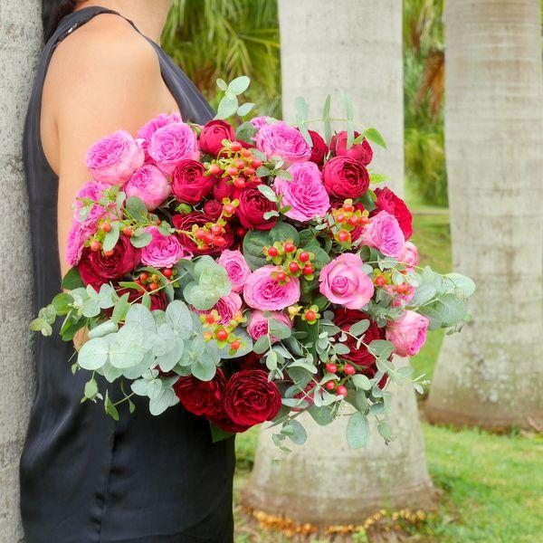 Bouquet de roses saint valentin faire livrer des fleurs for Livrer une rose